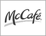 Referenz mousepad kunde logo mc Donalds cafe